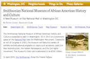 Smithsonian National Museum of African American History