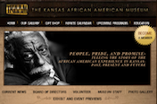 The Kansas African American Museum Home page